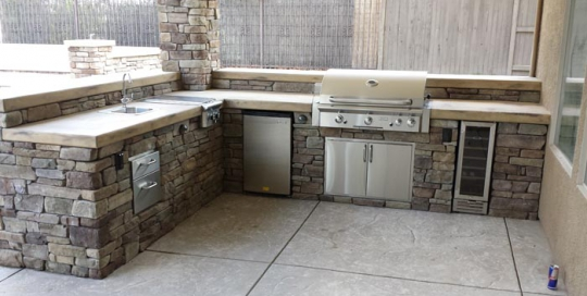 Concrete Countertops Archives Custom Image Hardscape