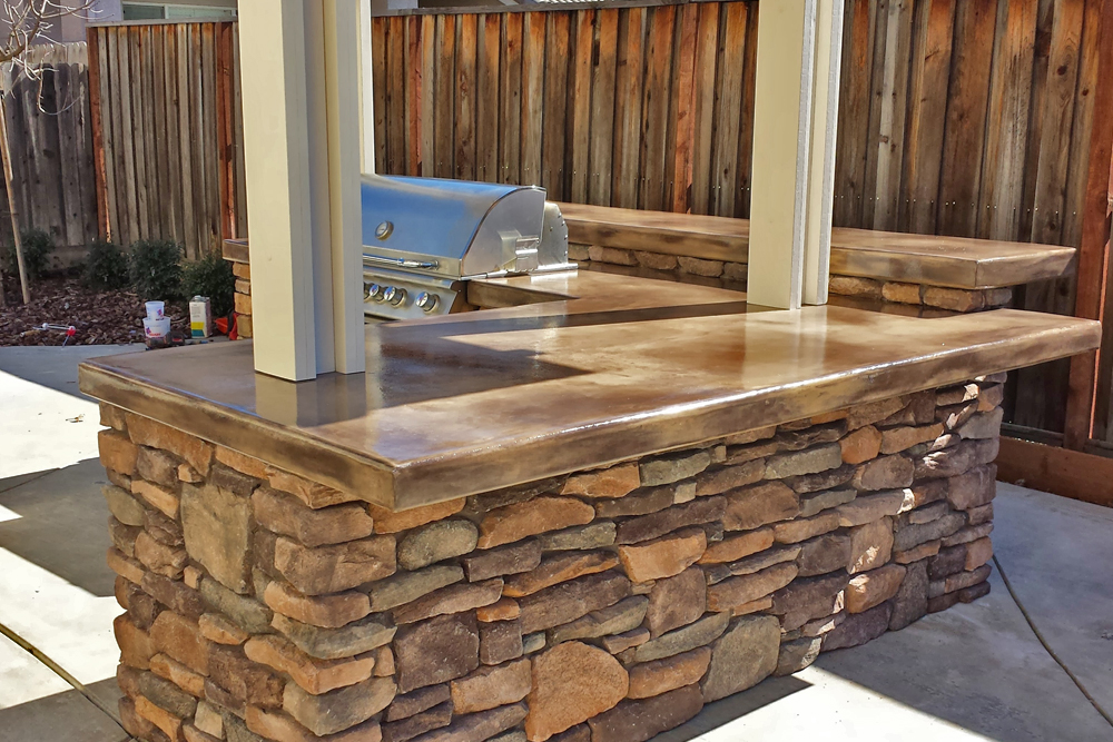 Recent Outdoor Kitchen Projects Sacramento Quality Family