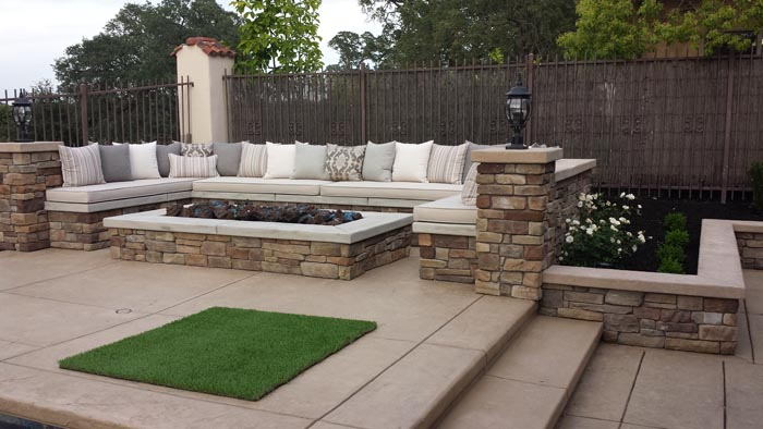 Outdoor Fireplace Design Sacramento Firepits And Fireplace Design