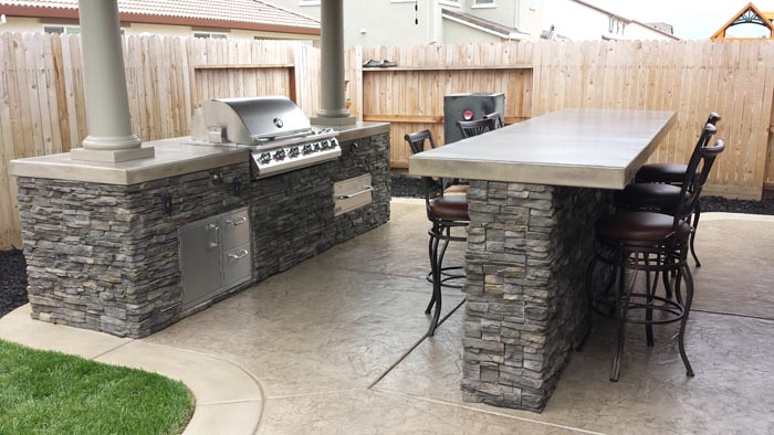 Outdoor Kitchen Vacaville Ca Custom Outdoor Kitchens