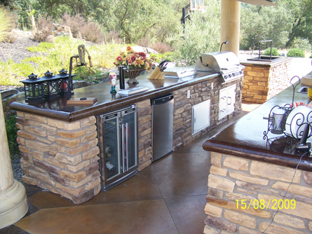 Outdoor Kitchen Luxury Outdoor Living in Sacramento
