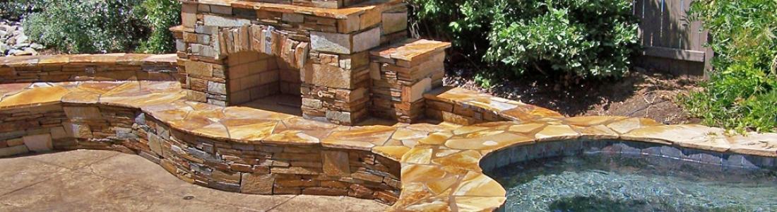 Custom Outdoor Fireplace Designs Sacramento, Gas, Wood, Propane