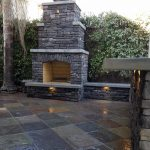 Wood Burning Outdoor Fireplace Build Downtown Sacramento