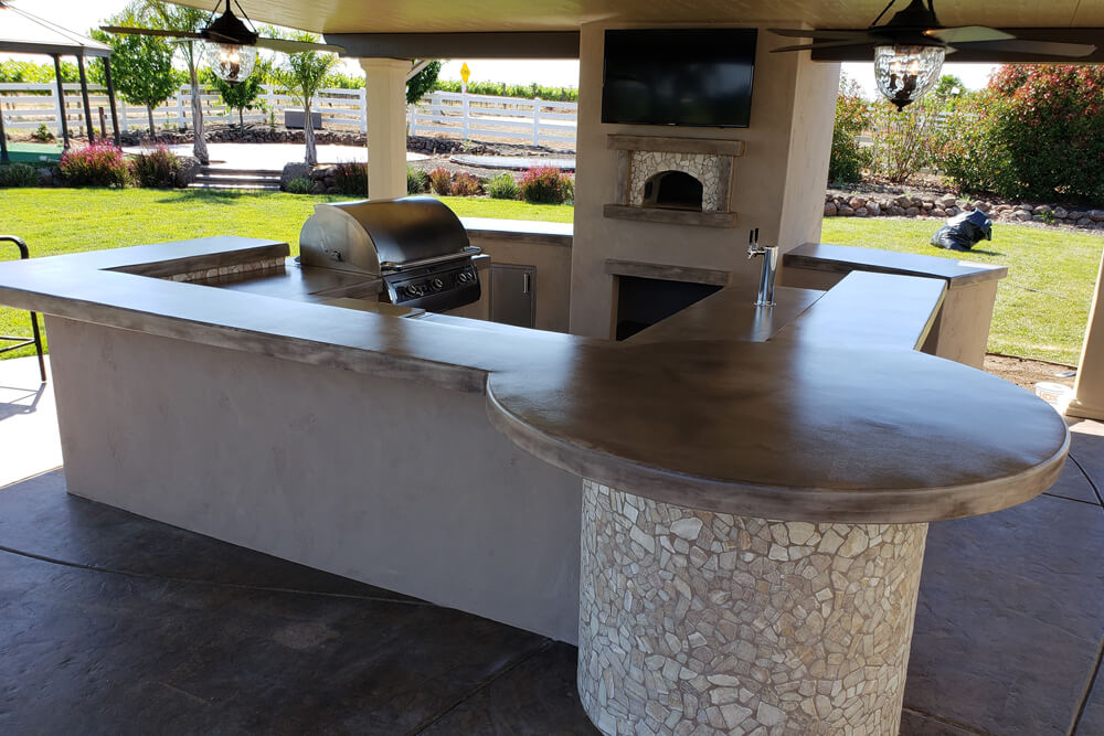 Outdoor Pizza Oven Masonry Design