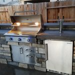 Cultured Stone Outdoor Kitchen in Roseville