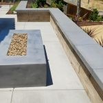Natural Gas Outdoor Fire Pit and Kitchen in El Dorado Hills