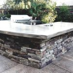 Luxury Outdoor Stone Kitchen Built El Dorado Hills