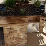 Custom Stone Outdoor Kitchen Build in Rocklin