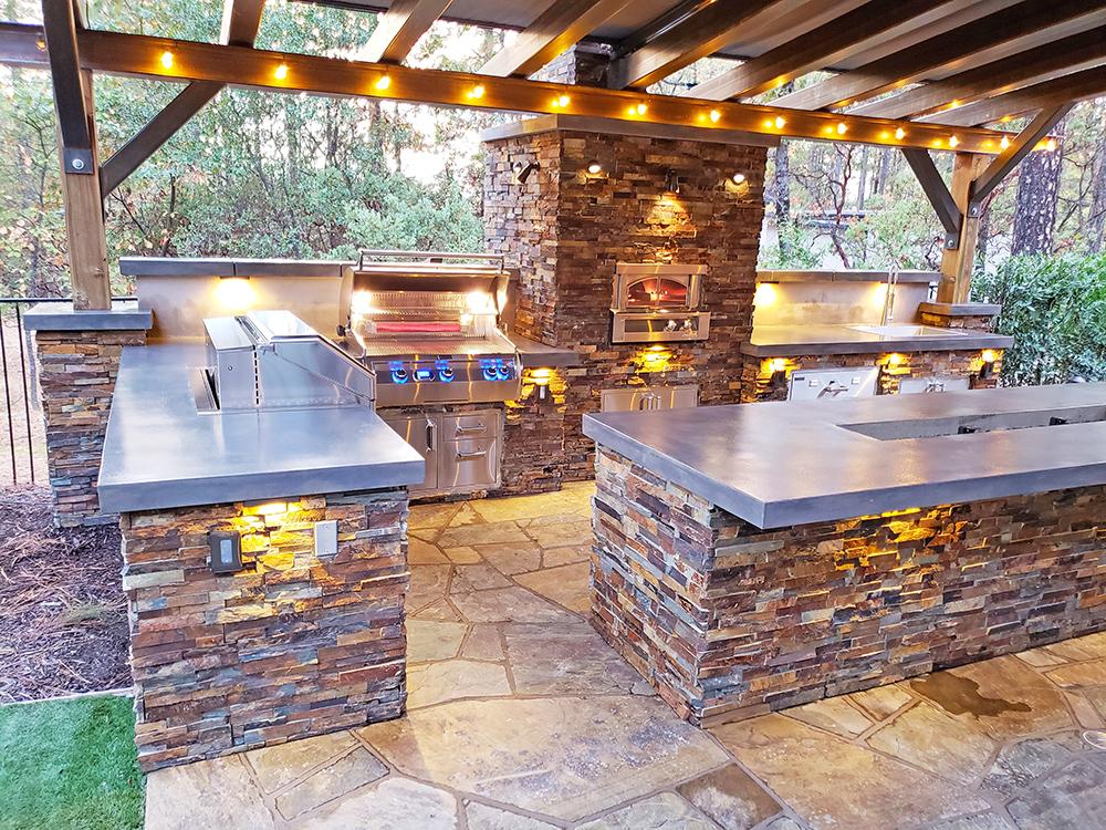 Outdoor Kitchen Sacramento - Custom Outdoor Kitchens