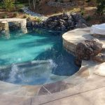 Sydney Peak Ledge Stone Poolside and Outdoor Kitchen Loomis