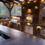 Natural Ledge Stone Outdoor Kitchen Re-imagined Meadow Vista