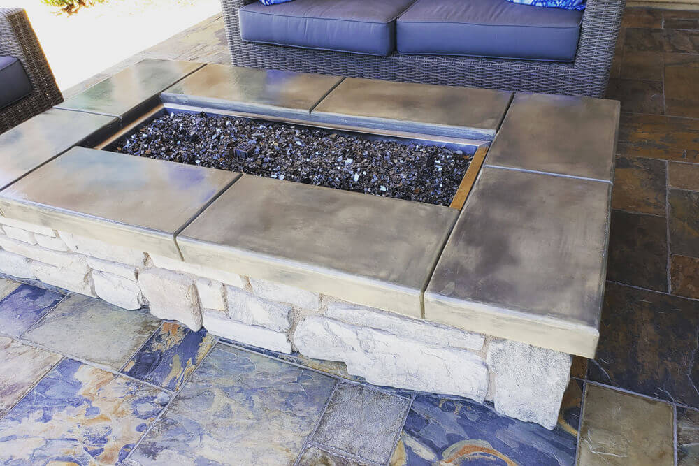 El Dorado Stone Outdoor Kitchen And Fire Pit Build In Loomis