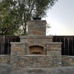 Traditional Wood Burning Outdoor Fireplace Fairfield