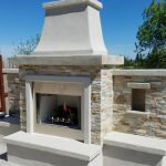 Natural Gas Outdoor Fireplace For Rocklin Home